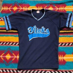 Vintage Rawling Baseball Jersey 70-80s adult Med